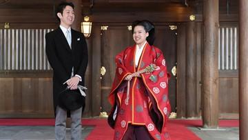 Japońska księżniczka Ayako wyszła za człowieka z gminu