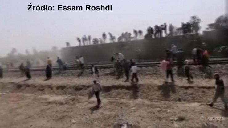 Katastrofa kolejowa w Egipcie. Co najmniej 11 osób zginęło, ponad 100 jest rannych