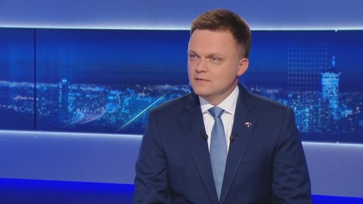 Hołownia: zagłosuję na Trzaskowskiego, bo nie mam wyboru