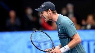 ATP w Wiedniu: Hubert Hurkacz - Andy Murray. Skrót meczu (WIDEO)