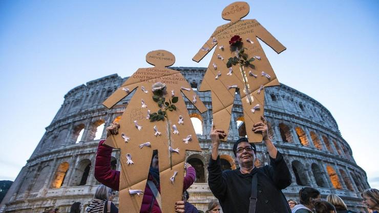 200 tys. osób manifestowało w Rzymie przeciwko przemocy wobec kobiet