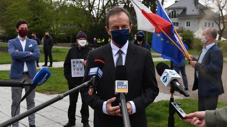 Grodzki: złożyłem marszałek Sejmu obietnicę dot. ustawy o głosowaniu korespondencyjnym