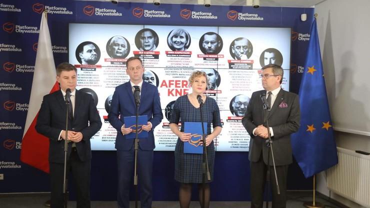 """PO: uruchomimy kampanię w internecie nt. afer PiS-u. """"KNF, SKOK, Solvere"""""""