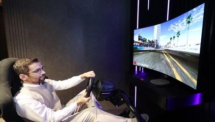 LG szykuje gamingowy TV, który będzie można zakrzywiać za dotknięciem przycisku