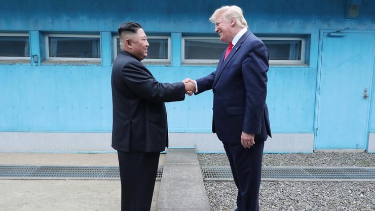 """Trump podsumował rozmowy w strefie zdemilitaryzowanej. """"To było wspaniałe spotkanie"""""""