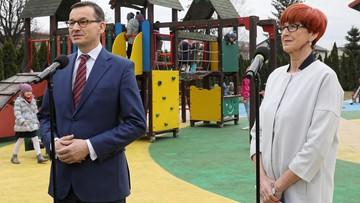 Morawiecki i Rafalska przedstawili projekt 500 plus na pierwsze dziecko