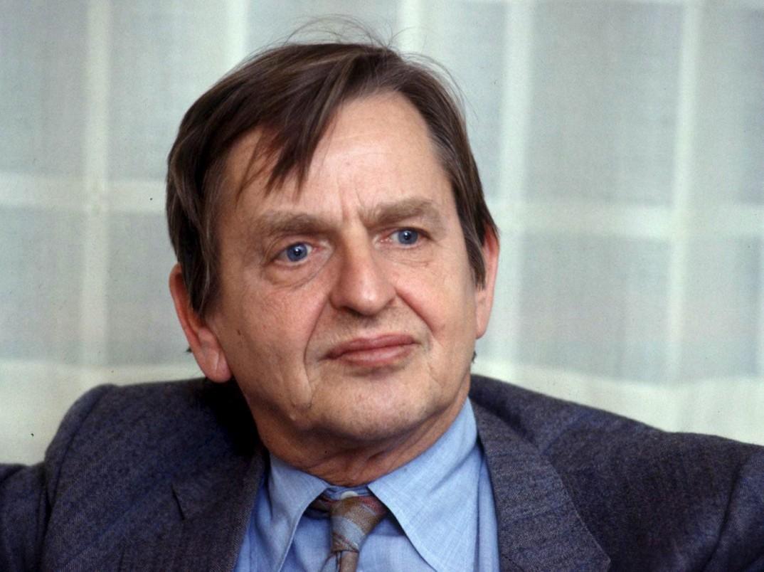 Premier Szwecji Olof Palme