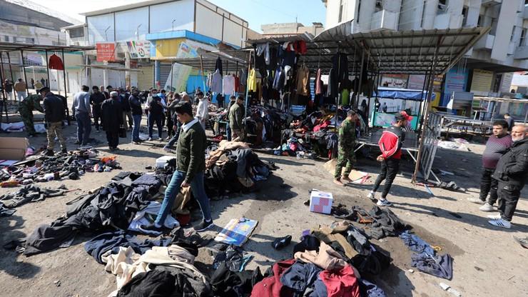 Państwo Islamskie przyznało się do zamachu w Bagdadzie. Zginęły 32 osoby