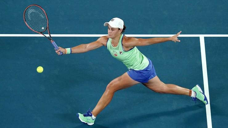Australian Open: Stracony set Barty w pierwszej rundzie