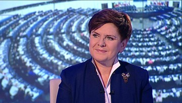 Premier Szydło: nie można debaty postrzegać w kategoriach walki