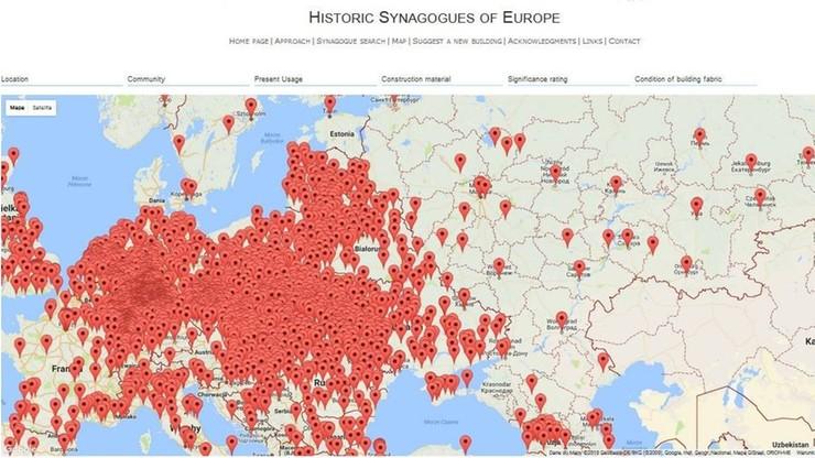3318 synagog i miejsc modlitw w Europie - powstała interaktywna mapa