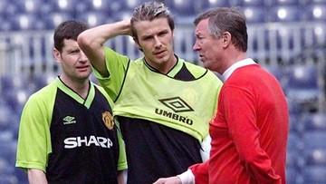 """""""Goliłem irokeza tuż przed meczem"""". Beckham wspomina, jak doprowadził Fergusona do furii"""