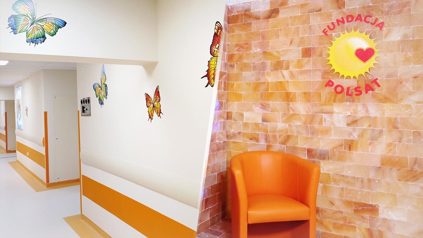 Fundacja Polsat pomogła odmienić Oddział Otolaryngologii Dziecięcej Szpitala w Rybniku