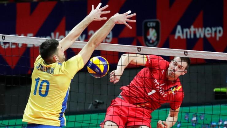 ME siatkarzy 2019: Sensacja! Ukraina wyeliminowała Belgię