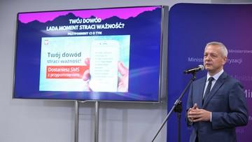 Nowa e-usługa Ministerstwa Cyfryzacji - resort przypomni o wymianie dowodu osobistego