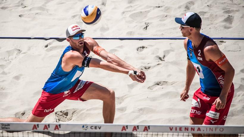 Mistrzowie olimpijscy triumfatorami ME w siatkówce plażowej