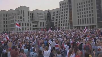 Zmarł postrzelony 43-latek. To trzecia ofiara protestów na Białorusi