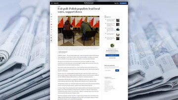 """""""Ostrzeżenie dla rządzących"""". Zagraniczne media o wyborach samorządowych w Polsce"""