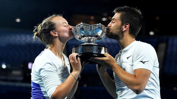 Australian Open: Krejcikova i Mektic triumfowali w mikście