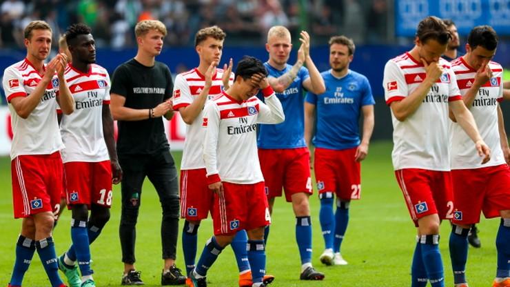 Bundesliga: Spadek Hamburger SV. Bayern Monachium przegrał 1:4