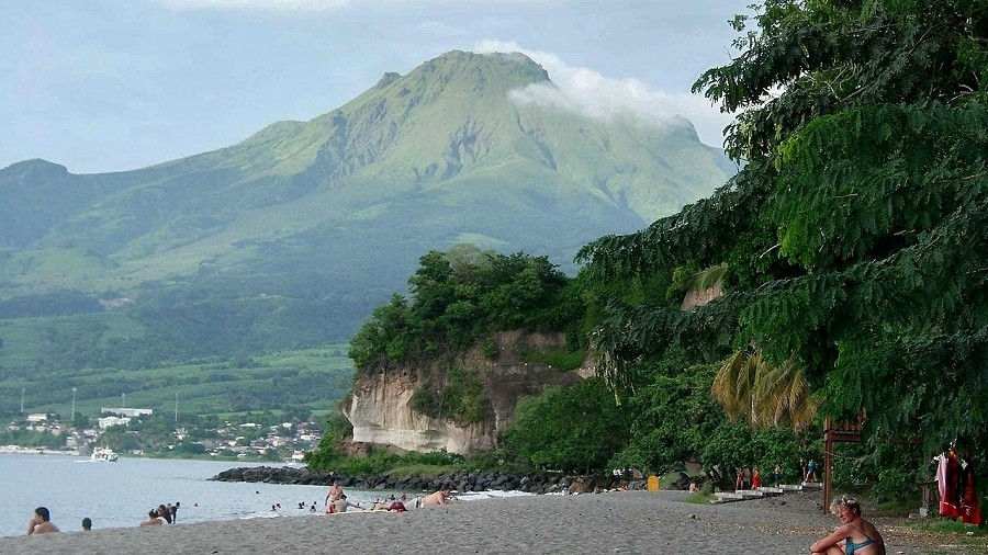 Wulkan Pelée. Fot. Wikipedia.