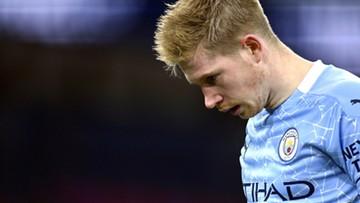 Manchester City przynajmniej miesiąc bez Kevina de Bruyne'a