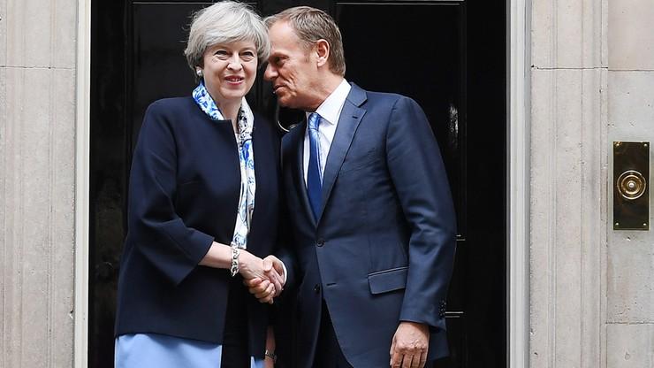 Premier May rozmawiała z Donaldem Tuskiem o Brexicie