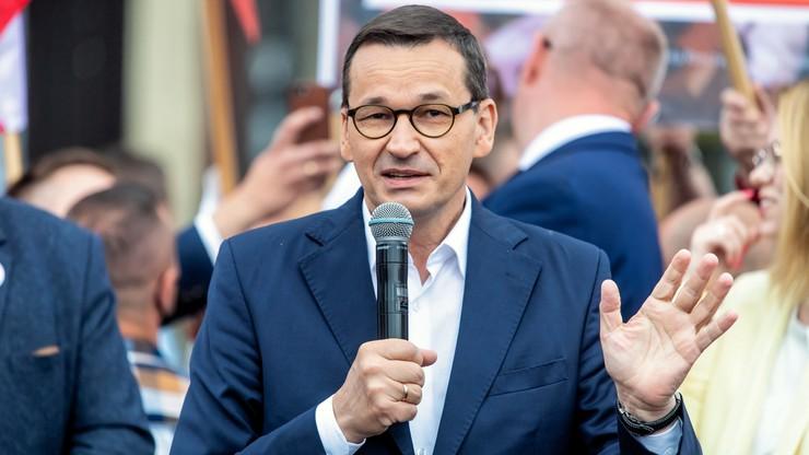 Prawie połowa Polaków zadowolona z premiera Morawieckiego