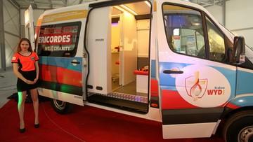 Mobilna klinika dla uchodźców