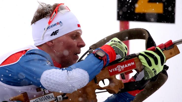 ME w biathlonie: Polacy na dziesiątym miejscu w supermikście