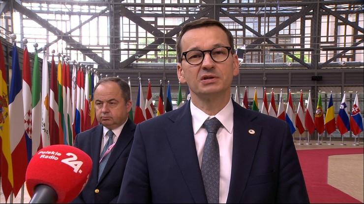 Morawiecki: propozycja spotkania liderów UE-Rosja to byłaby nagroda dla prezydenta Rosji.