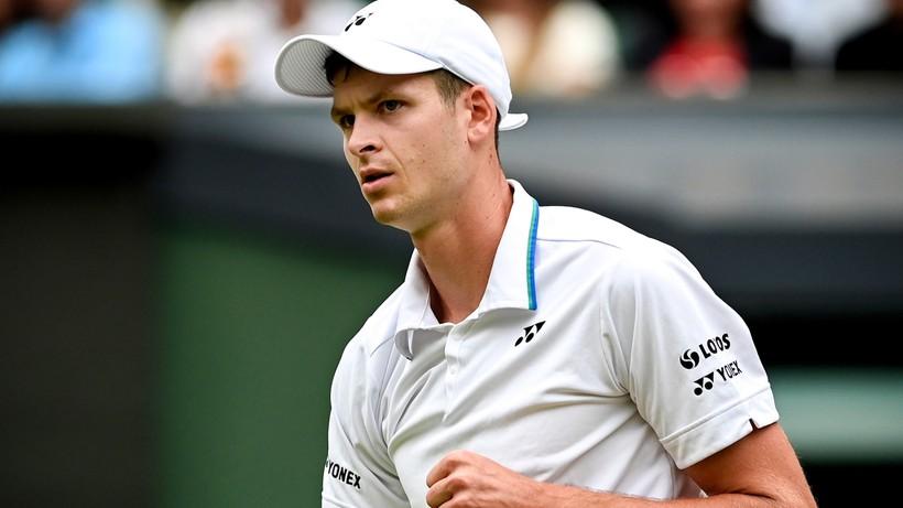 Wimbledon: Hubert Hurkacz drugim Polakiem w półfinale singla w Londynie