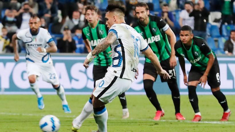 Serie A: Męczarnie Interu Mediolan w meczu z Sassuolo