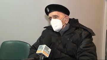 102-letni kombatant zaszczepił się na koronawirusa