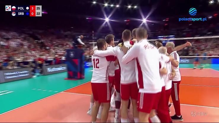 Wielka radość polskich siatkarzy po wywalczeniu brązowego medalu mistrzostw Europy