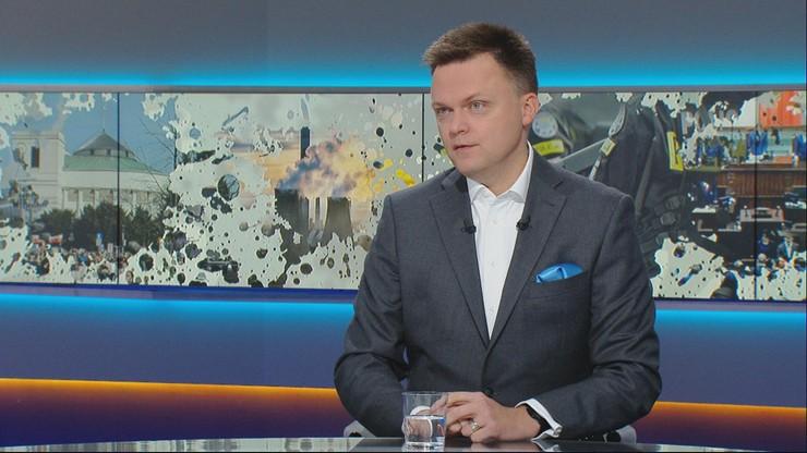 """Szymon Hołownia w """"Graffiti"""" o """"okupacji europejskiej"""": Suski bredzi"""