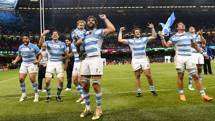 Puchar Świata w Rugby: Argentyna w półfinale! Osłabiona Irlandia poza turniejem