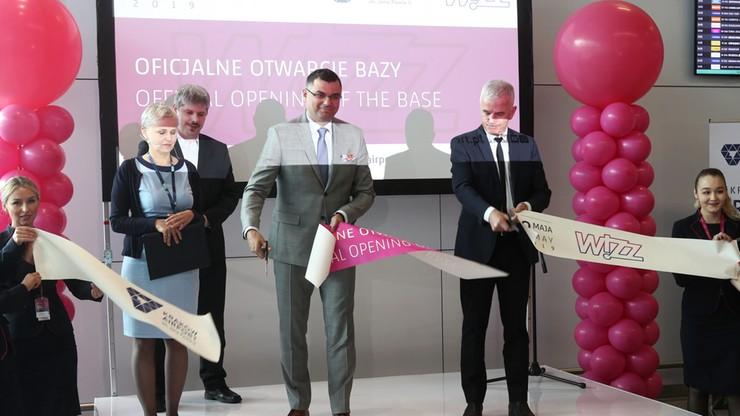 Wizz Air otworzył bazę na lotnisku w Krakowie. 18 nowych połączeń