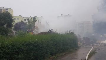 Potężna eksplozja w Toruniu. Zwalił się dom