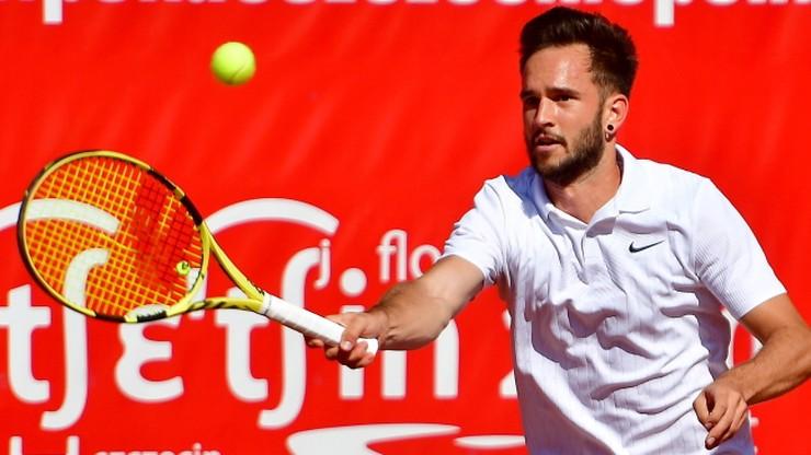 Challenger ATP w Szczecinie: Ciaś i Michalski awansowali do trzeciej rundy