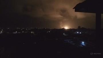 Izrael: naloty lotnictwa izraelskiego na cele w Strefie Gazy