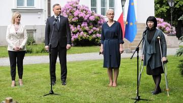 Duda: obiecałem wspieranie Białorusi na forach międzynarodowych
