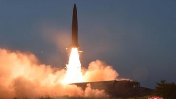 """Korea Północna: testowane rakiety były """"nowego typu"""" i przeleciały 600 km"""