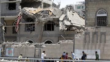 Naloty na centrum stolicy Jemenu, w tym na pałac prezydencki. Co najmniej 6 osób nie żyje