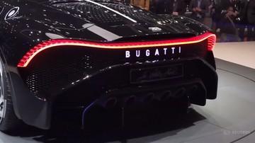 Bugatti La Voiture Noire za ok. 70 mln zł. Luksusowe auta w Genewie
