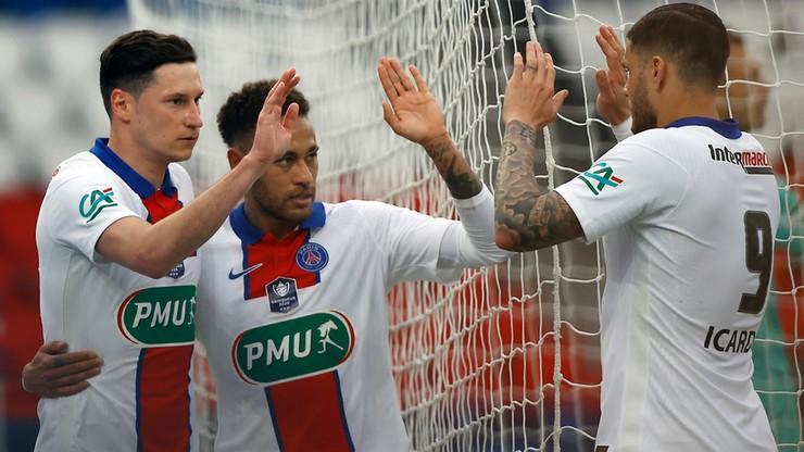 Puchar Francji: Awans do półfinału PSG i AS Monaco z Majeckim w bramce