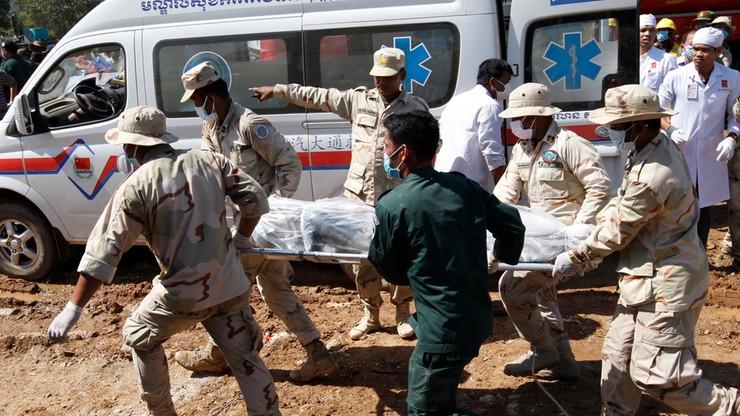 Kambodża: do 36 osób wzrosła liczba ofiar śmiertelnych katastrofy budowlanej