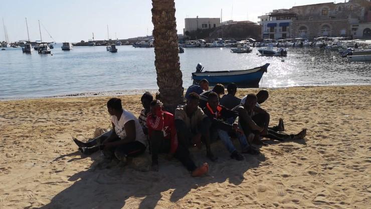 Kryzys na Lampedusie. Ponad tysiąc migrantów na wyspie