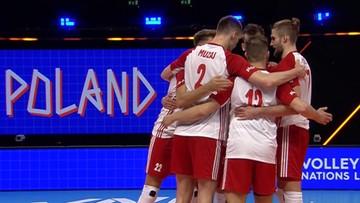 Zdecydowane zwycięstwo polskich siatkarzy na inaugurację Ligi Narodów