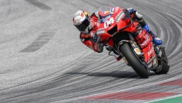 MotoGP: Wygrana Andrei Dovizioso w wyścigu przerwanym przez wypadek